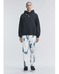 Alexander Wang | Bleached Denim Trousers | Lyst