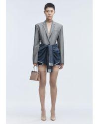 Alexander Wang - Exclusive Blazer Bodysuit - Lyst