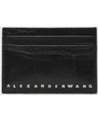 Alexander Wang - Black Dime Card Case - Lyst