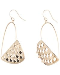 Alexis Bittar - Half Heart Grater Wire Earring You Might Also Like - Lyst