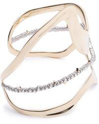 Alexis Bittar - Orbit Wavy Cuff Bracelet - Lyst