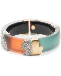 Alexis Bittar - Color Block Hinge Bracelet - Lyst