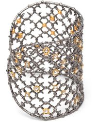 Alexis Bittar - Muse Dor Crystal Studded Spur Lace Cuff Bracelet You Might Also Like - Lyst