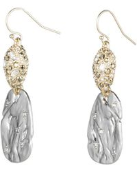 Alexis Bittar - Pave Pod Wire Earring - Lyst