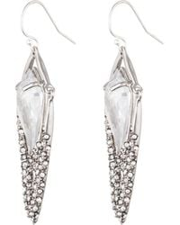 Alexis Bittar - Crystal Encrusted Dangling Kite Earring You Might Also Like - Lyst