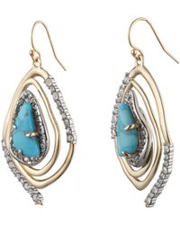 Alexis Bittar Spiral Drop Earring - Multicolour