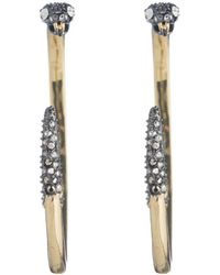 Alexis Bittar - Two Part Snake Hoop Earring You Might Also Like - Lyst