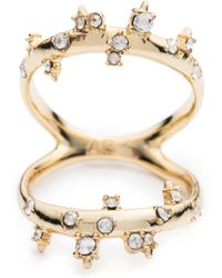 Alexis Bittar - Double Band Crystal Ring You Might Also Like - Lyst