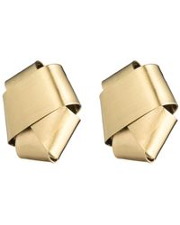 Alexis Bittar - Folded Knot Post Earring - Lyst