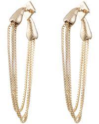 Alexis Bittar - Snake Chain Post Earring - Lyst