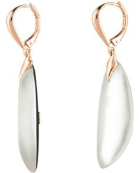 Alexis Bittar - Curved Capped Leverback Earring - Lyst