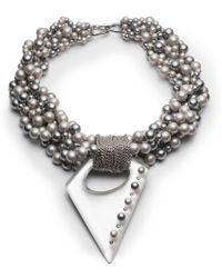 Alexis Bittar - Pearl Studded Multi-strand Pendant Necklace You Might Also Like - Lyst