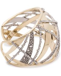Alexis Bittar - Crystal Encrusted Plaid Cuff Bracelet You Might Also Like - Lyst