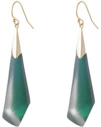 Alexis Bittar - Faceted Wire Earring - Lyst