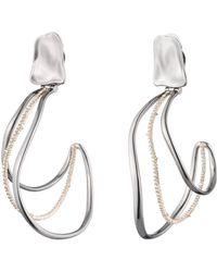 Alexis Bittar - Orbit Wavy Hoop Clip Earring - Lyst