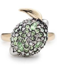 Alexis Bittar - Crystal Encrusted Lime Ring You Might Also Like - Lyst