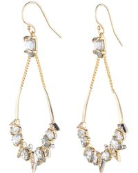 Alexis Bittar - Crystal Encrusted Mosaic Futurist Tear Earring You Might Also Like - Lyst