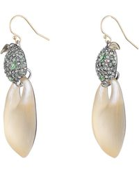 Alexis Bittar - Crystal Encrusted Lime Drop Earring You Might Also Like - Lyst