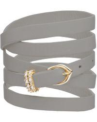 Alexis Bittar - Multi Wrap Leather Bracelet - Lyst