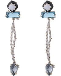Alexis Bittar - Abstract Petal Dangling Post Earring - Lyst