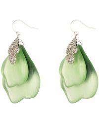 Alexis Bittar - Crystal Encrusted Abstract Drop Earrings - Lyst