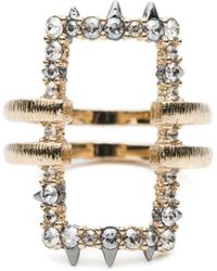Alexis Bittar | Crystal Encrusted Oversize Link Ring You Might Also Like | Lyst
