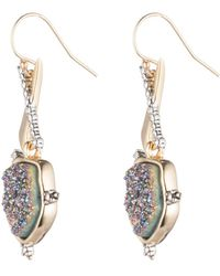 Alexis Bittar - Druzy Stone Wire Earring You Might Also Like - Lyst