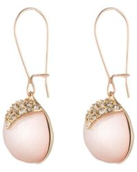 Alexis Bittar - Origami Inlay Dangling Sphere Earring - Lyst