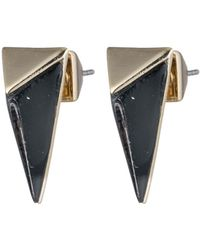 Alexis Bittar - Faceted Pyramid Post Earring You Might Also Like - Lyst