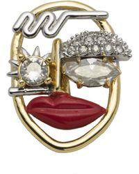 Alexis Bittar - Abstract Crystal Face Slide You Might Also Like - Lyst