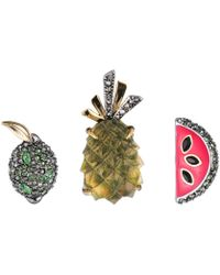 Alexis Bittar - Fruit Pin Set You Might Also Like - Lyst