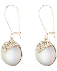 Alexis Bittar - Origami Inlay Dangling Sphere Earring You Might Also Like - Lyst