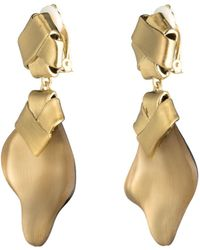 Alexis Bittar - Folded Knot Dangling Clip Earring - Lyst