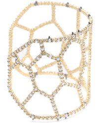 Alexis Bittar - Honeycomb Cuff Bracelet - Lyst