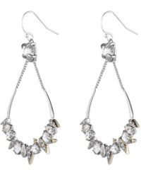 Alexis Bittar - Crystal Encrusted Mosaic Futuristic Tear Earring You Might Also Like - Lyst