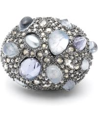 Alexis Bittar - Stone Cluster Pave Cocktail Ring - Lyst