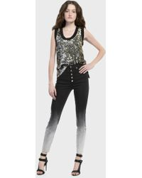 Alice + Olivia - Emmett Sequin Tank Top - Lyst