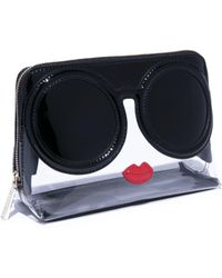Alice + Olivia - Nikki Staceface Cosmetic Case - Lyst