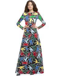 Alice + Olivia - Keith Haring X Ao Delaina Top - Lyst