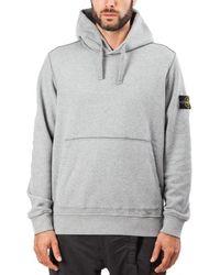 Stone Island - Hooded Sweater - Lyst