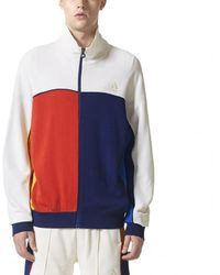 Lyst adidas originali ny giacca ltd in bianco per gli uomini.