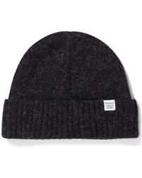 Norse Projects - Brushed Lambswool Beanie - Lyst