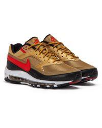 26b5dd8fd8 Nike Air Max 97 Trainers in Metallic for Men - Lyst