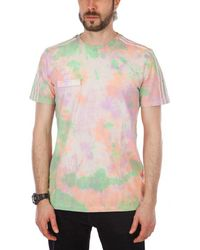 """adidas Originals - Williams Hu Holi T-shirt """"powder Dye"""" - Lyst"""