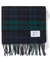 Norse Projects - Norse X Johnstons Check Scarf - Lyst