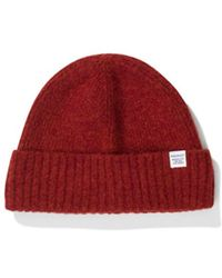 aa959e3fd Norse Projects - Brushed Lambswool Beanie - Lyst