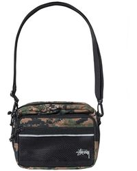 Stussy - Digi Camo Shoulder Bag - Lyst