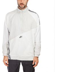 713215bb Nike Track Jacket With Taped Side Stripes In Red Aj2681-657 in Red ...
