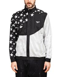 c858a33aa090b Reebok Classics Track Top in White for Men - Lyst