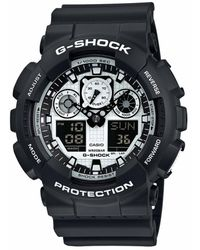 G-Shock - Casio Ga-100bw-1aer - Lyst